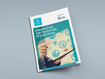 "Front page of Oxford Analytica's ""Gamification and the Future of Education"" report"