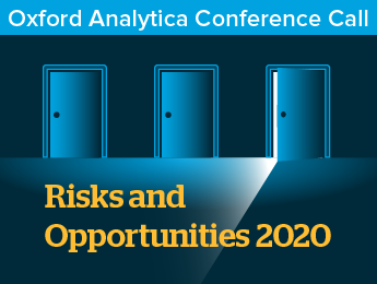 Risks and Opportunities 2020
