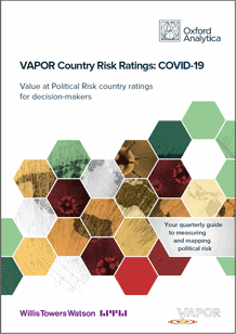 VAPOR Ratings Report front cover